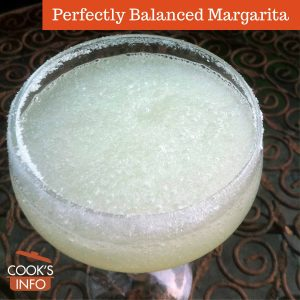 Perfectly Balanced Margarita
