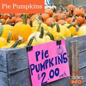 Pie pumpkins