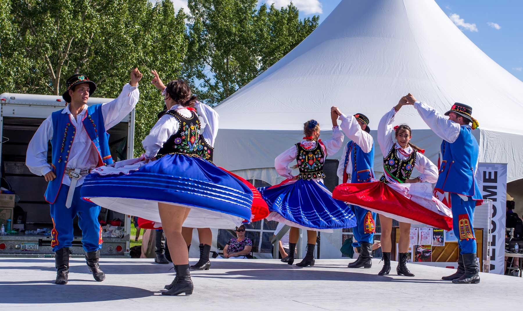 Polish dancing, Edmonton, Alberta, 2012