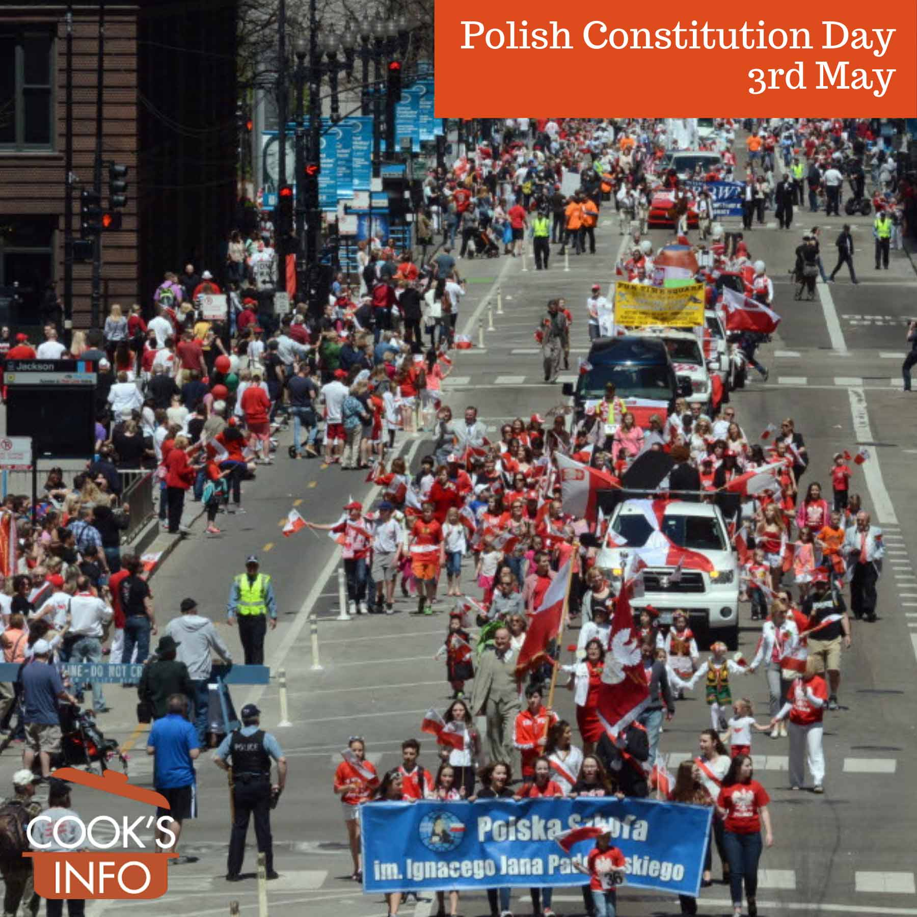 Polish Constitution Day Parade in Chicago 2015