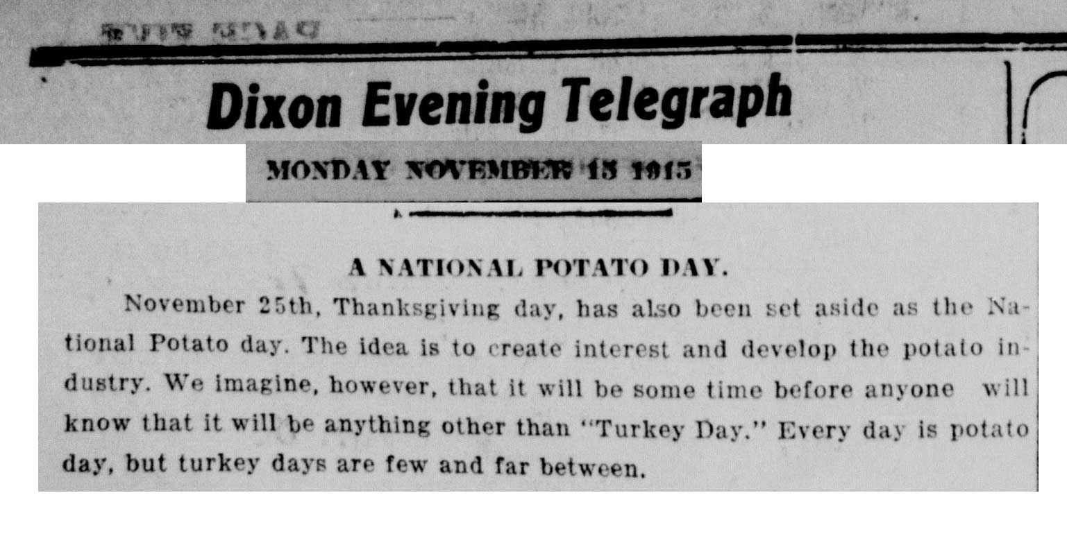 A National Potato Day 1015