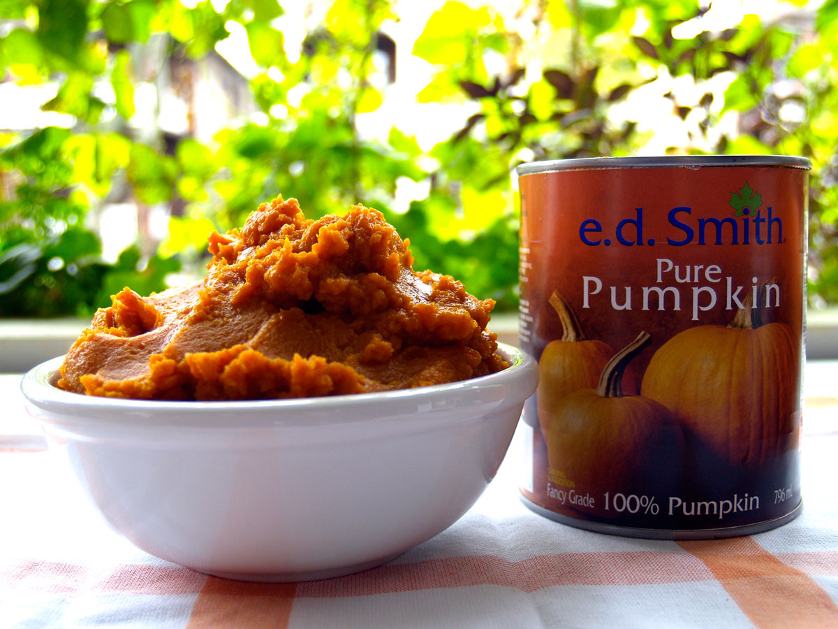 E.D. Smith (Libby) brand pumpkin puree.