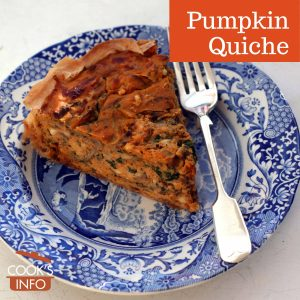 Pumpkin Quiche