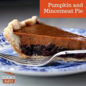 Pumpkin and Mincemeat Pie