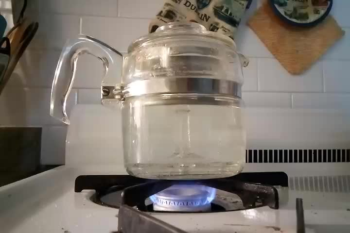 Pyrex Flameware coffee percolator