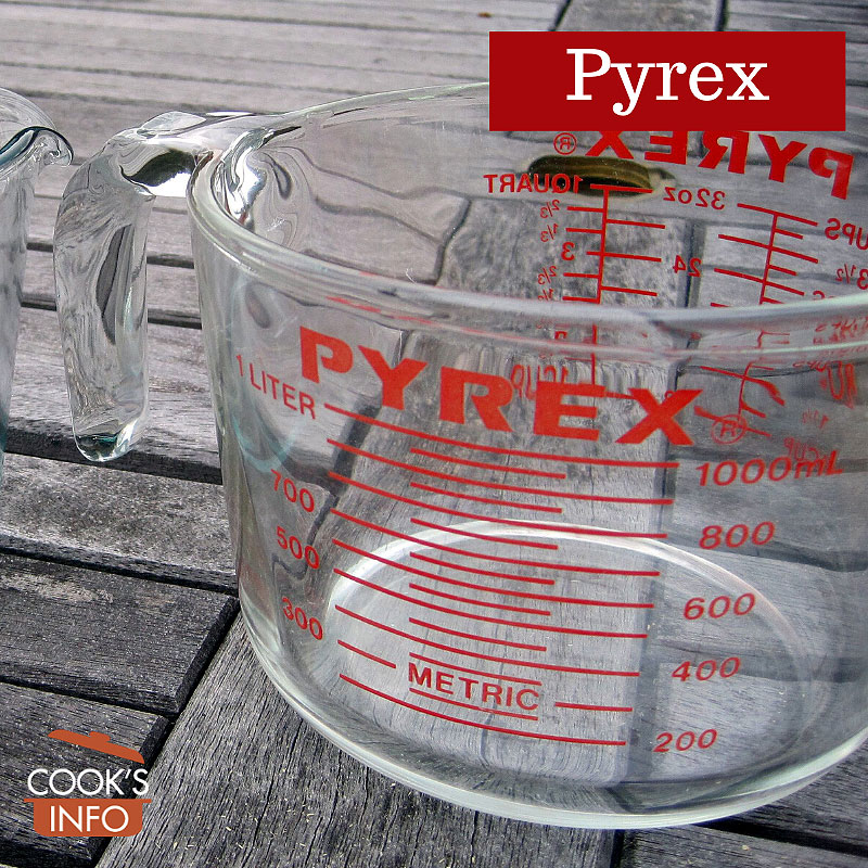 Pyrex measuring jugs