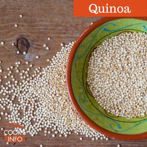 Quinoa seed in bowl