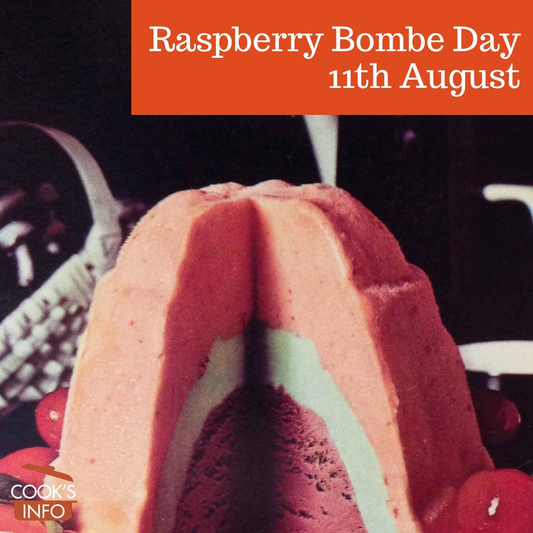 Raspberry bombe