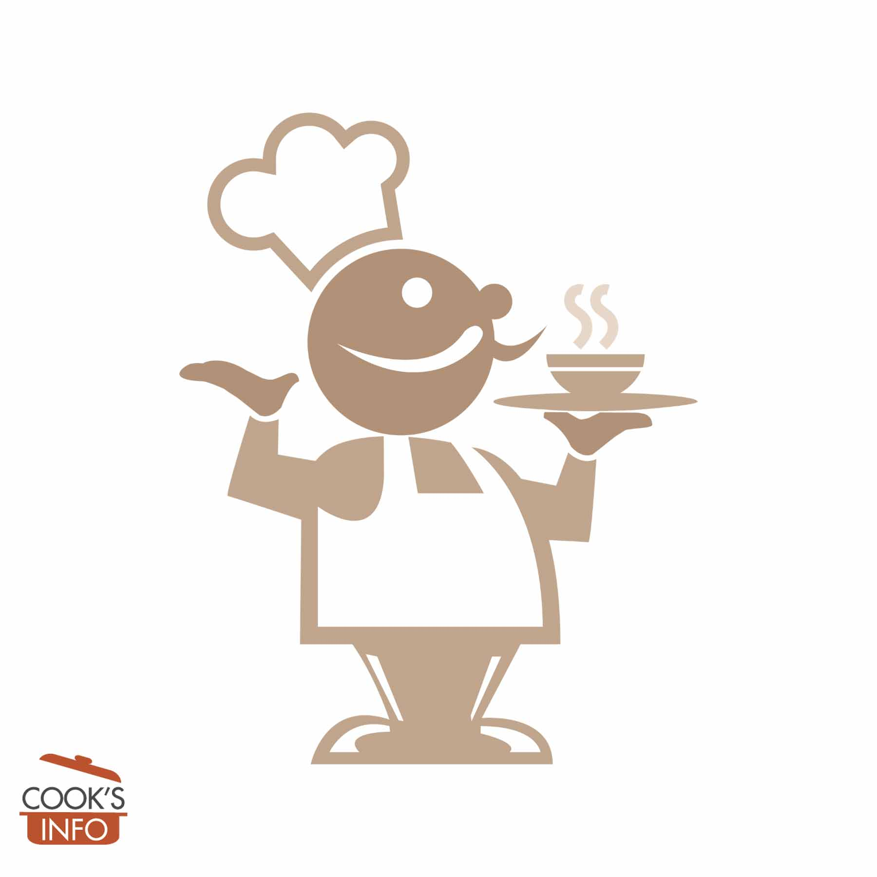 Image of a chef holding a hot bowl