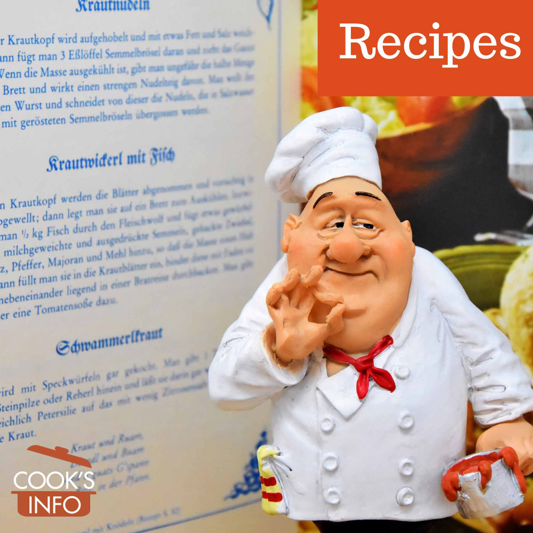 Cook with cookbook