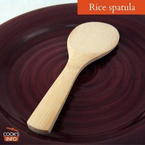 Rice paddle