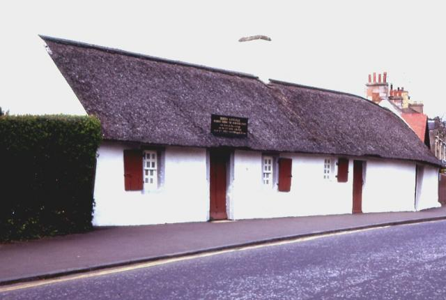 Robert Burns birth cottage