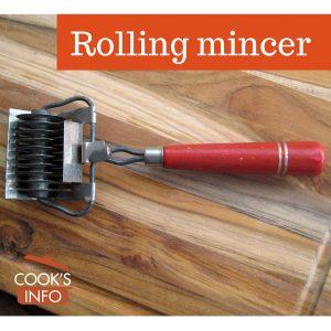 Rolling Mincer