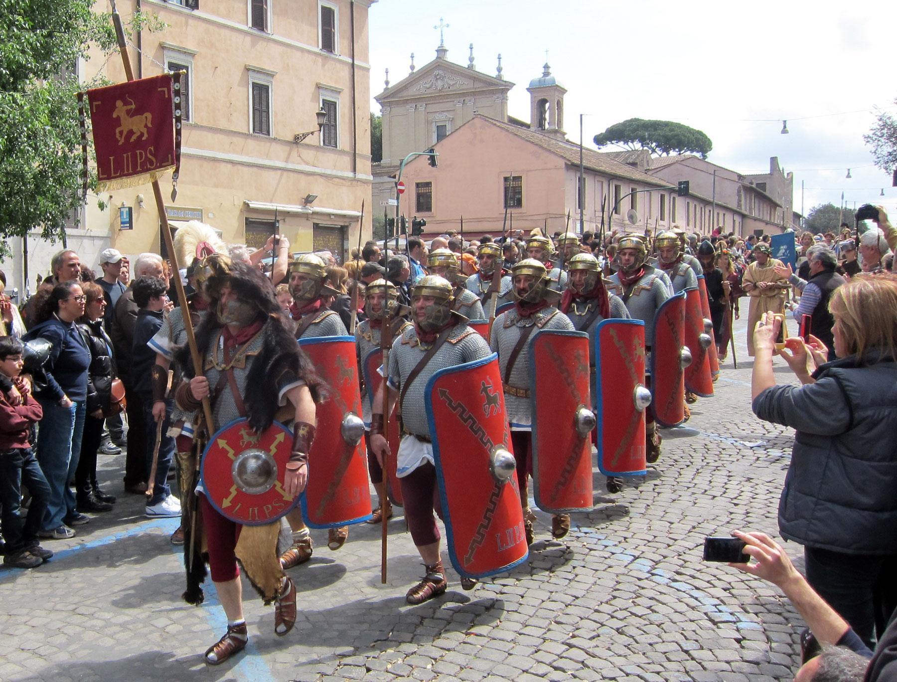 Rome's Birthday Parade 2012