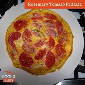 Rosemary Tomato Frittata