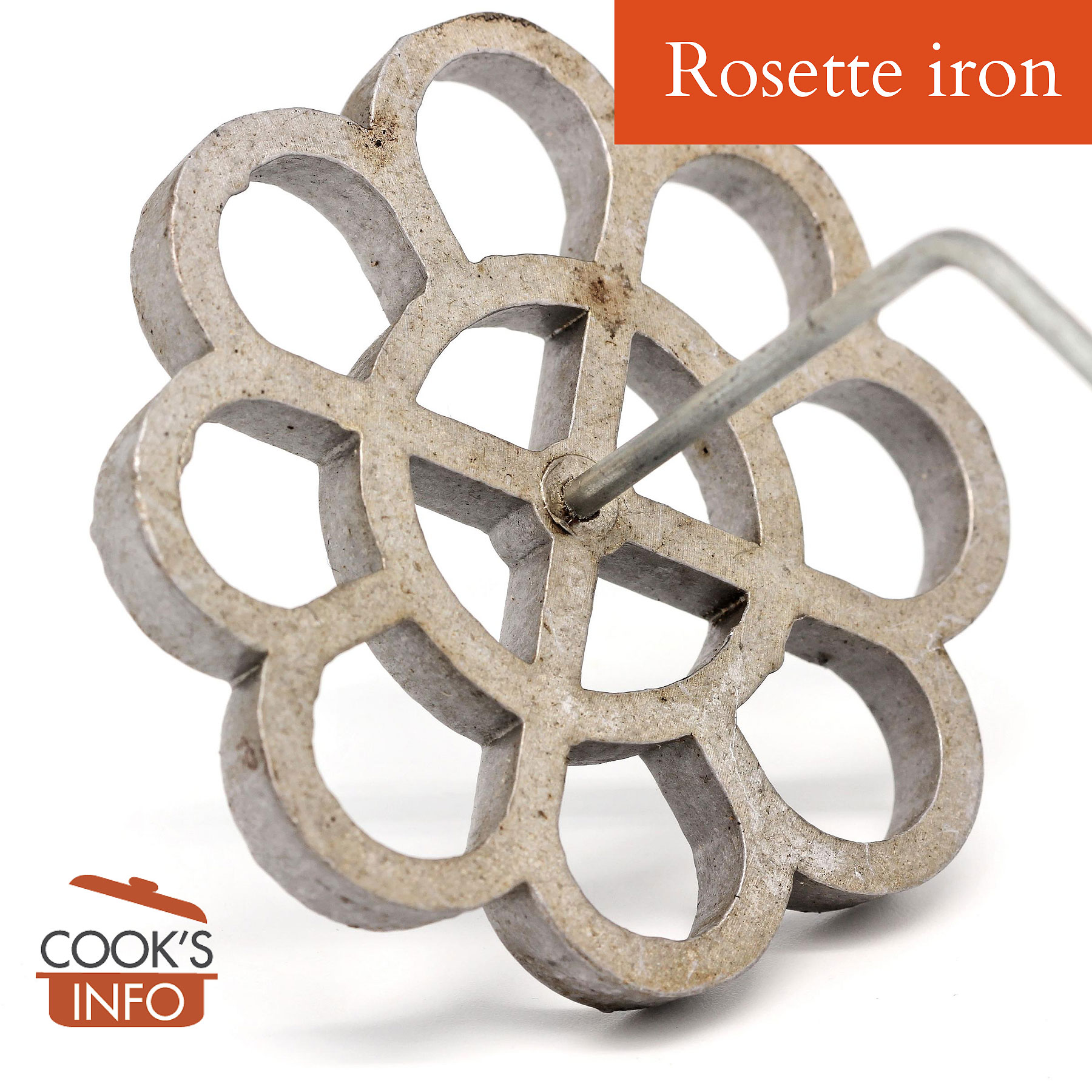 Rosette mould iron