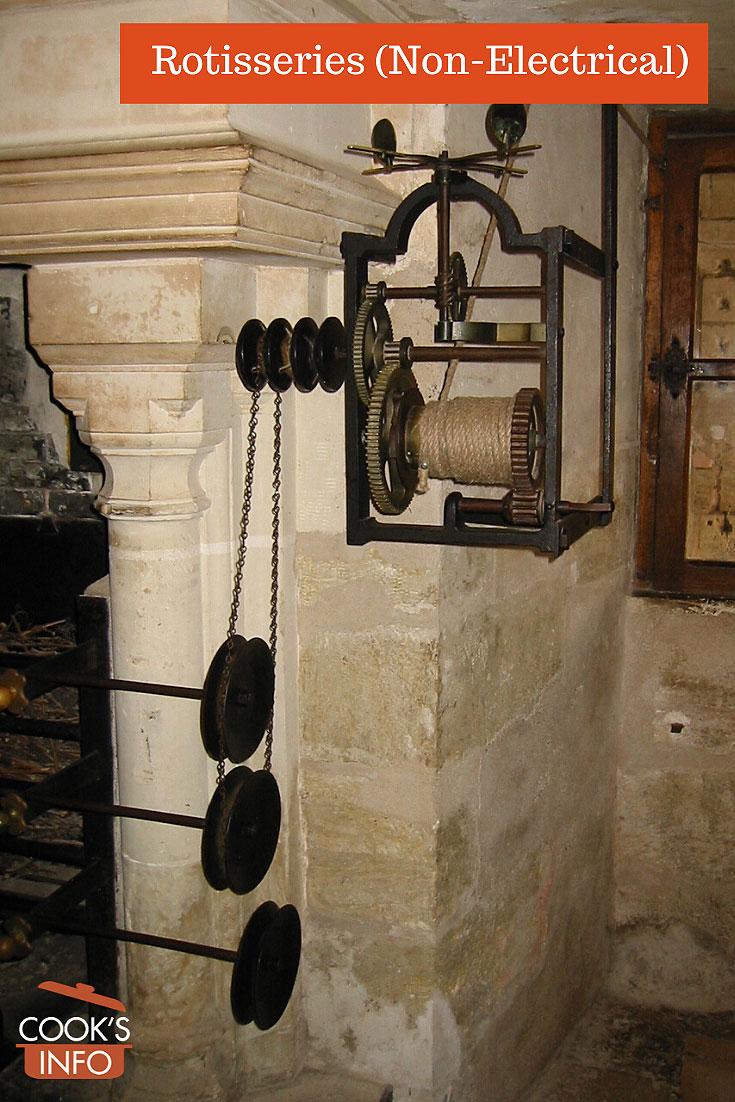 Château de Chenonceau kitchen spit