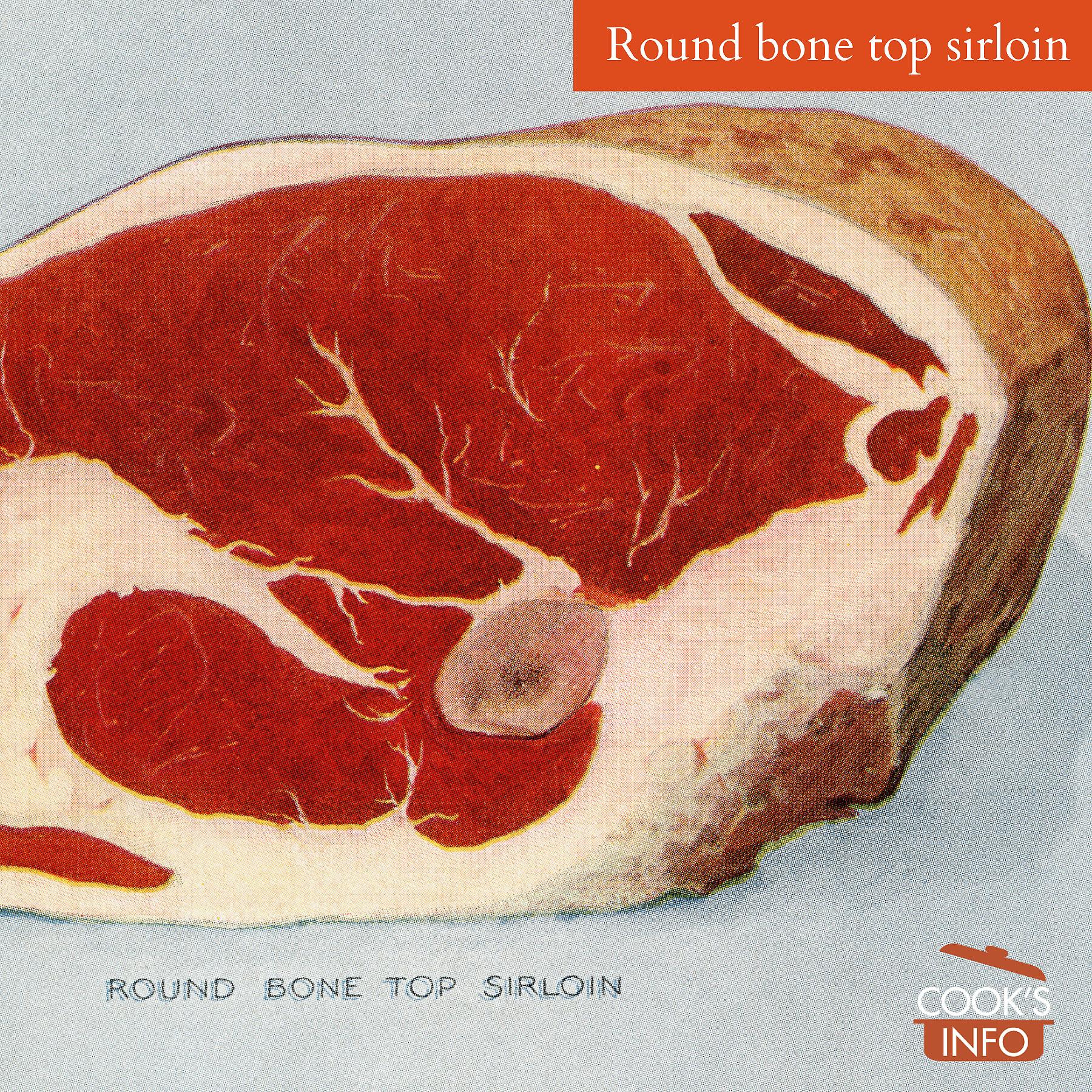 Round bone sirloin