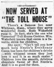 Ruth Wakeman endorsing cocoa
