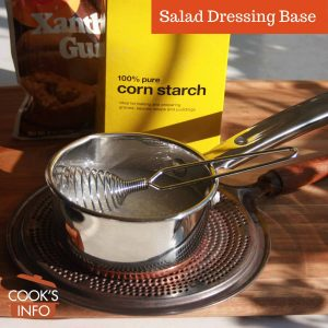 Salad Dressing Base
