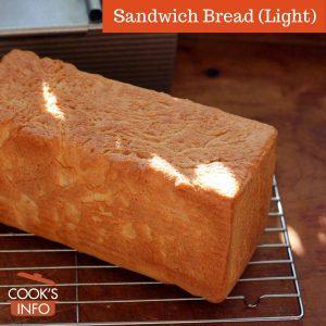 Light sandwich bread