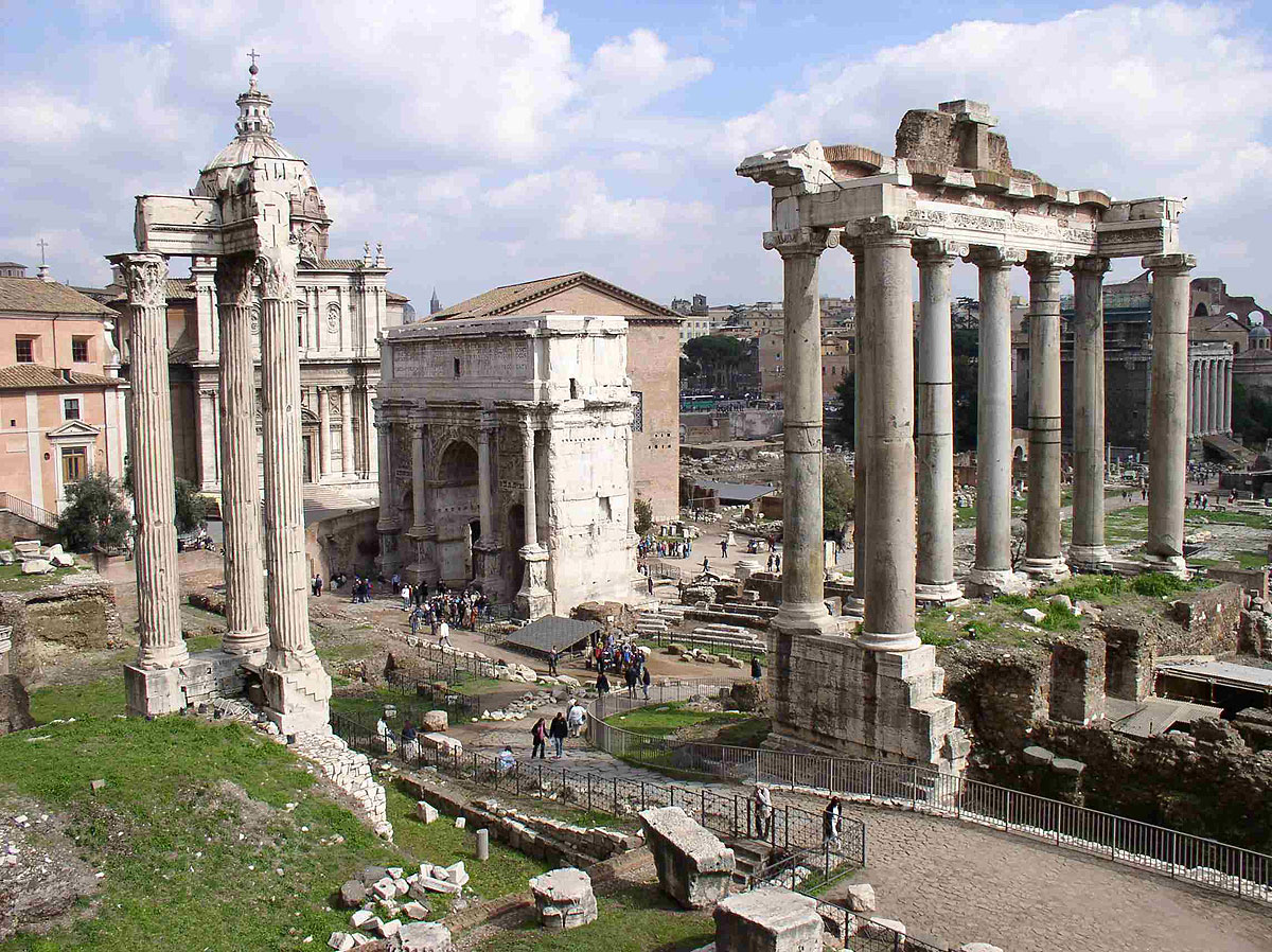 Ruins of the Temple of Saturn