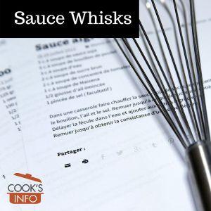Sauce Whisks