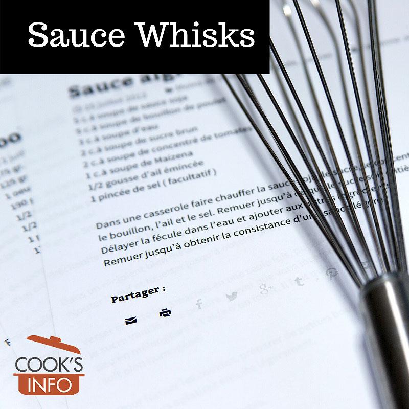 Sauce whisk