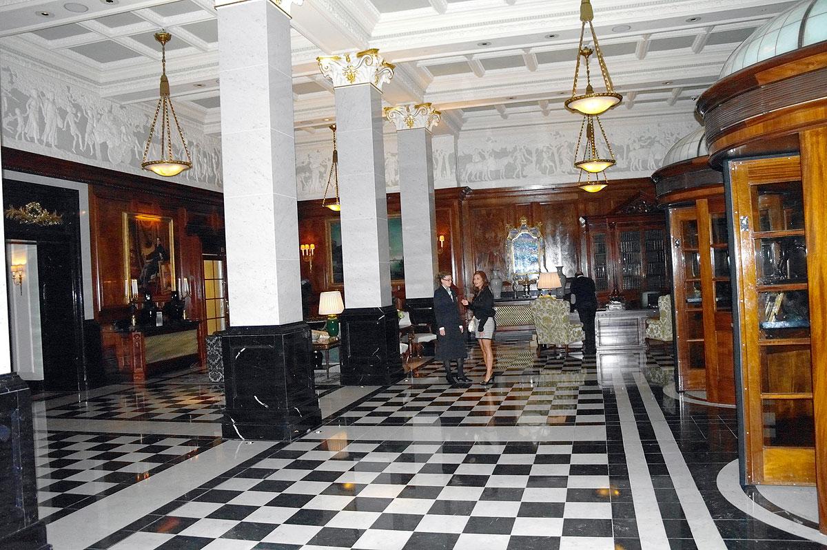 Savoy Hotel Lobby