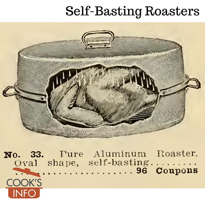 Self-basting roaster