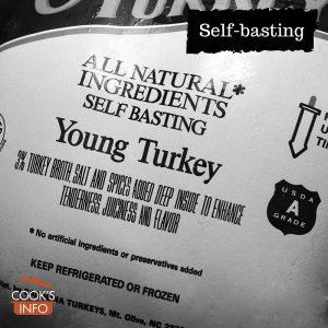 Self-basting label