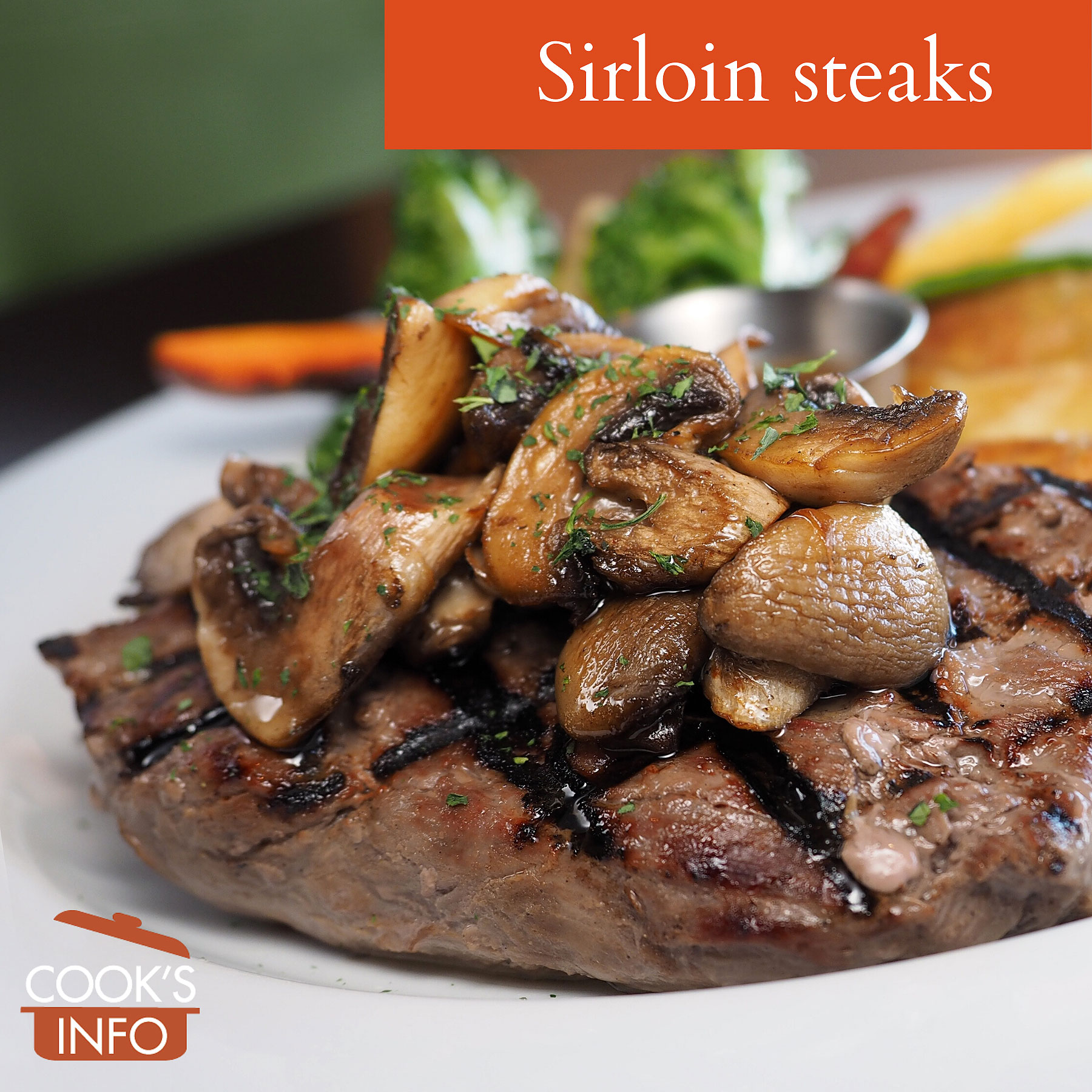 Boneless sirloin steak