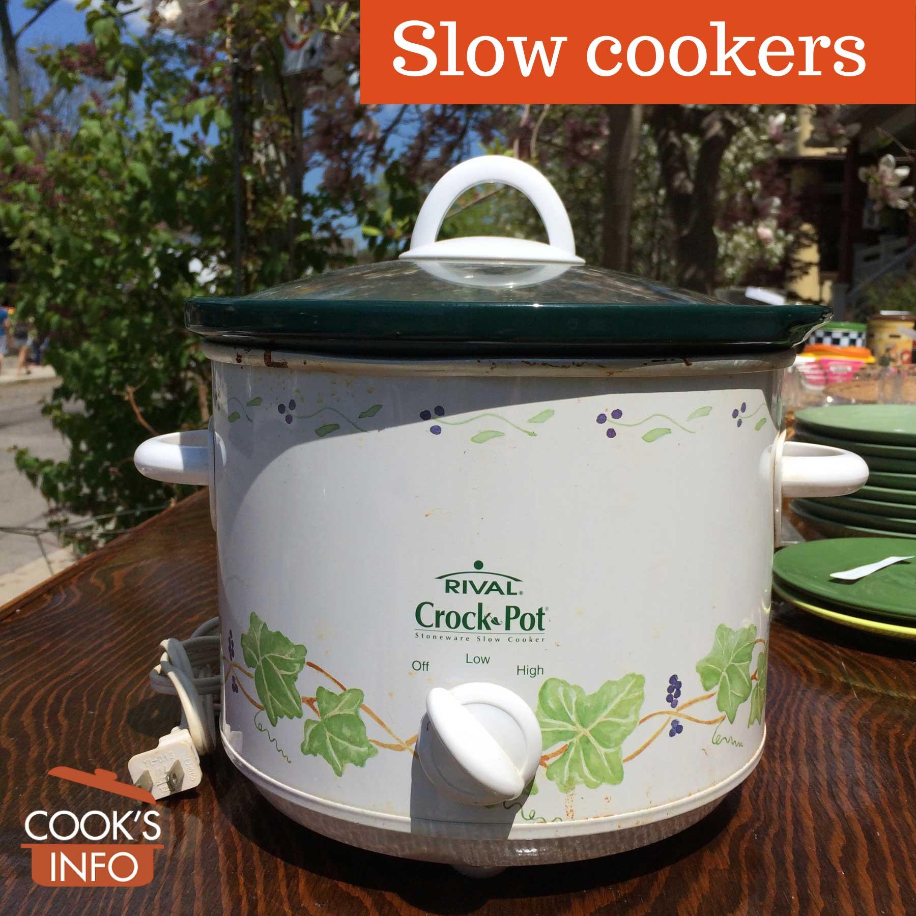 Slow cooker crock pot model