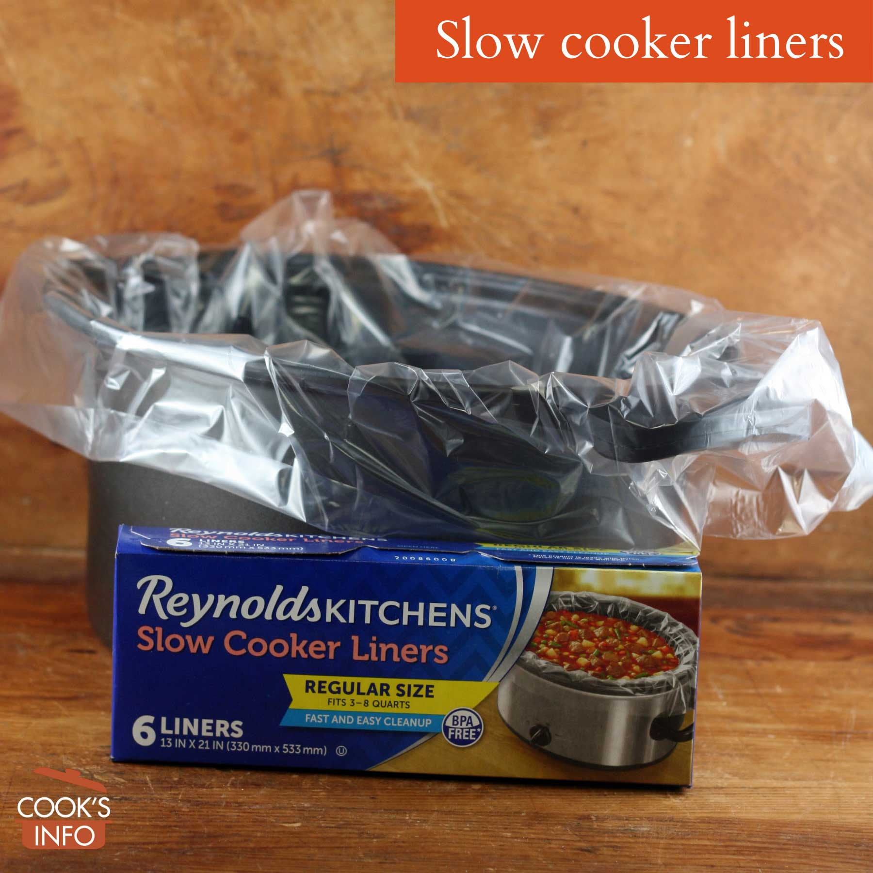 Slower cooker liners