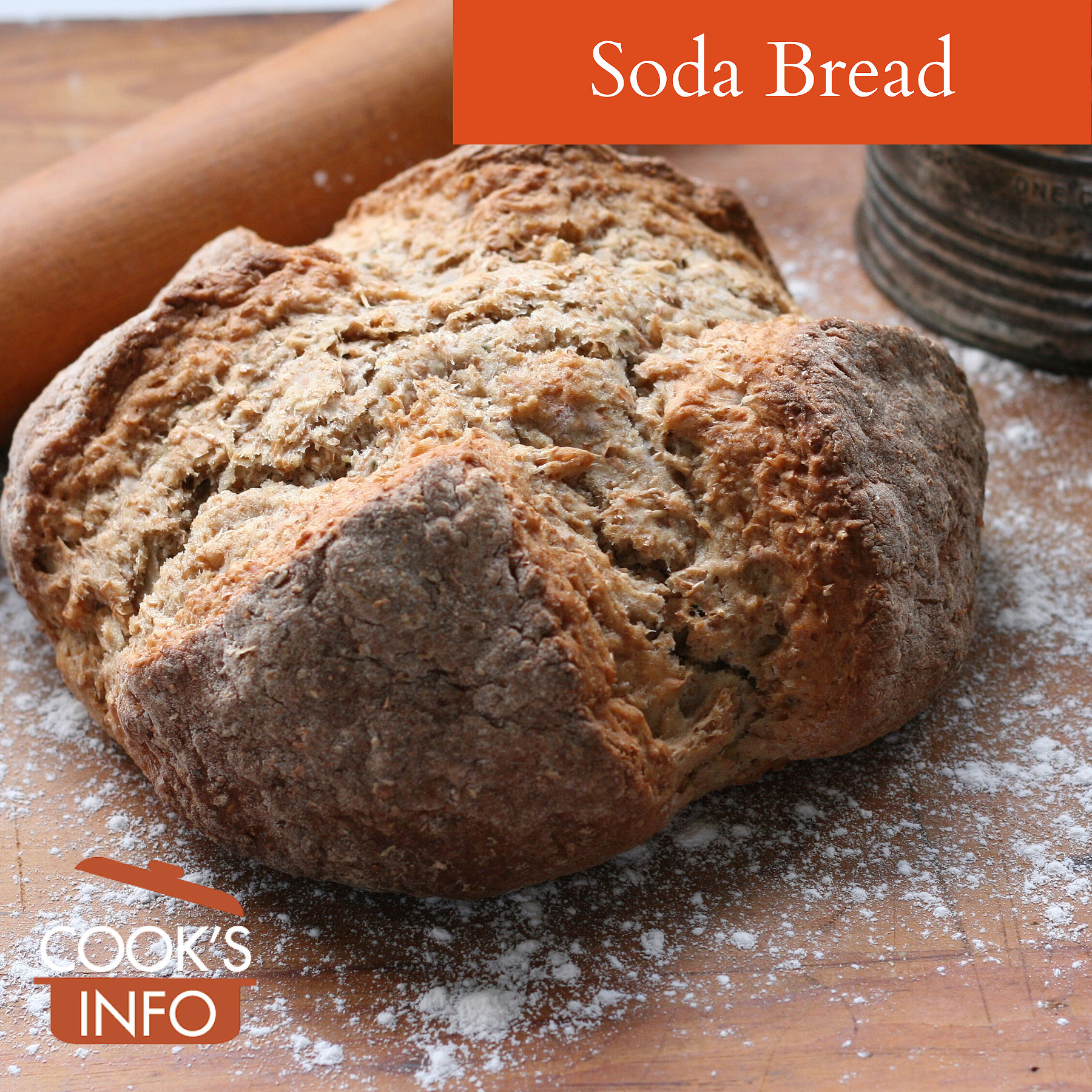 Loaf of soda bread