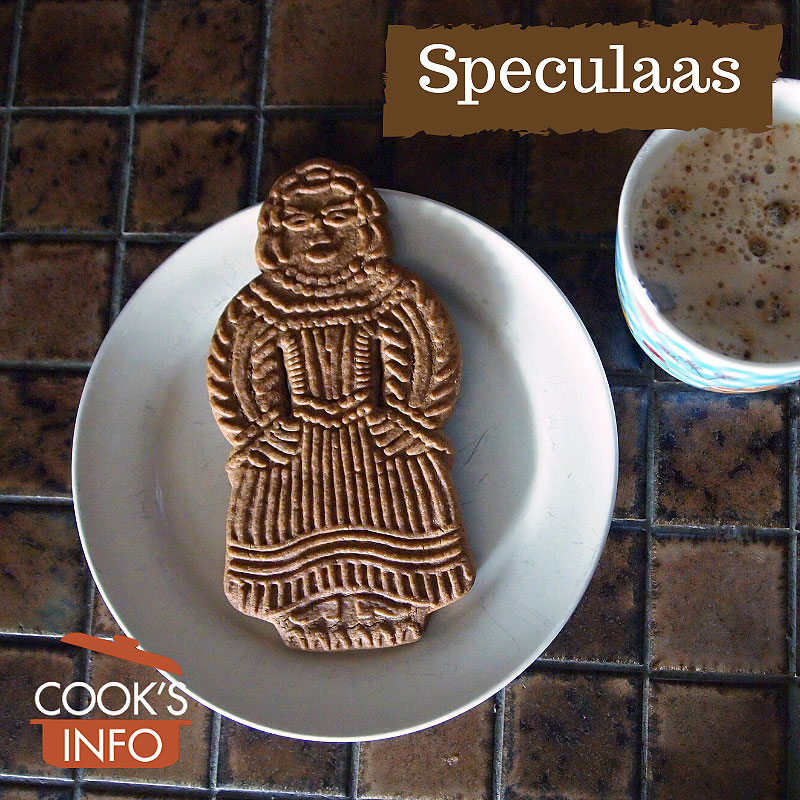 Speculaas shaped like a person