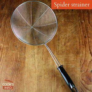 Spider Strainers