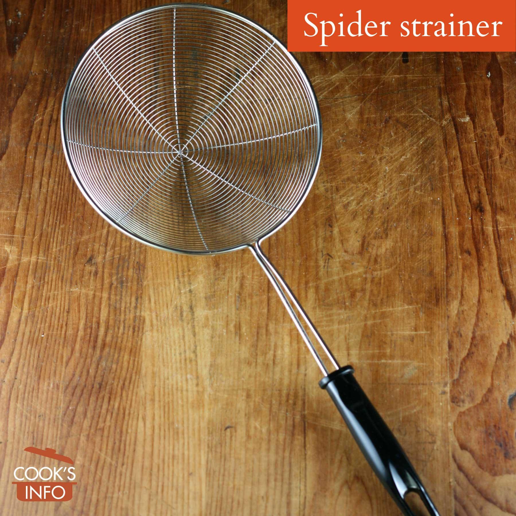Spider strainer