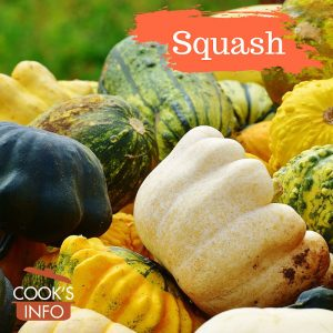 Vegetable squashes