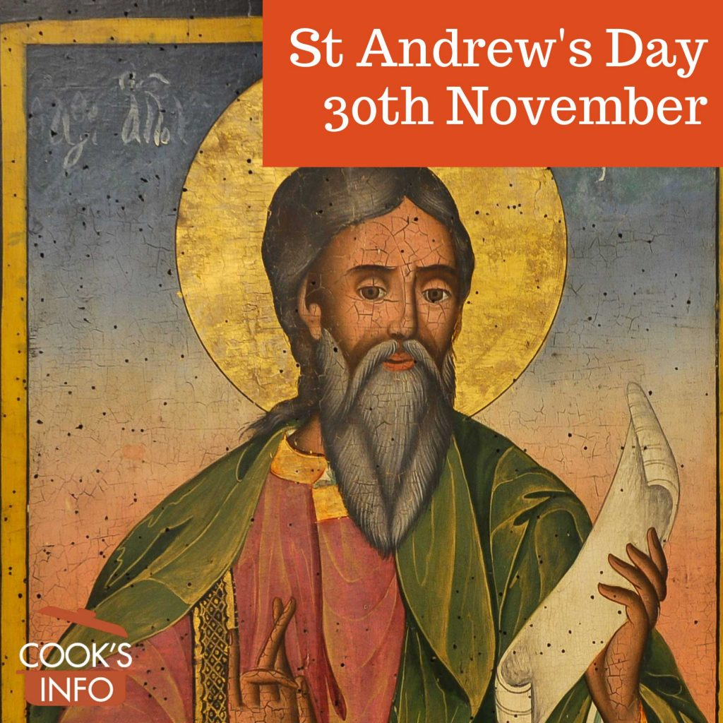 Icon of St. Andrew the Apostle