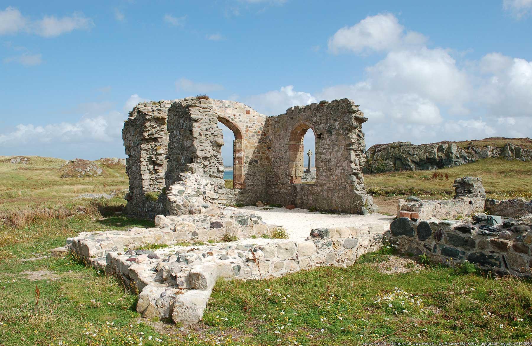 Ruins of St Dwynwen's Church