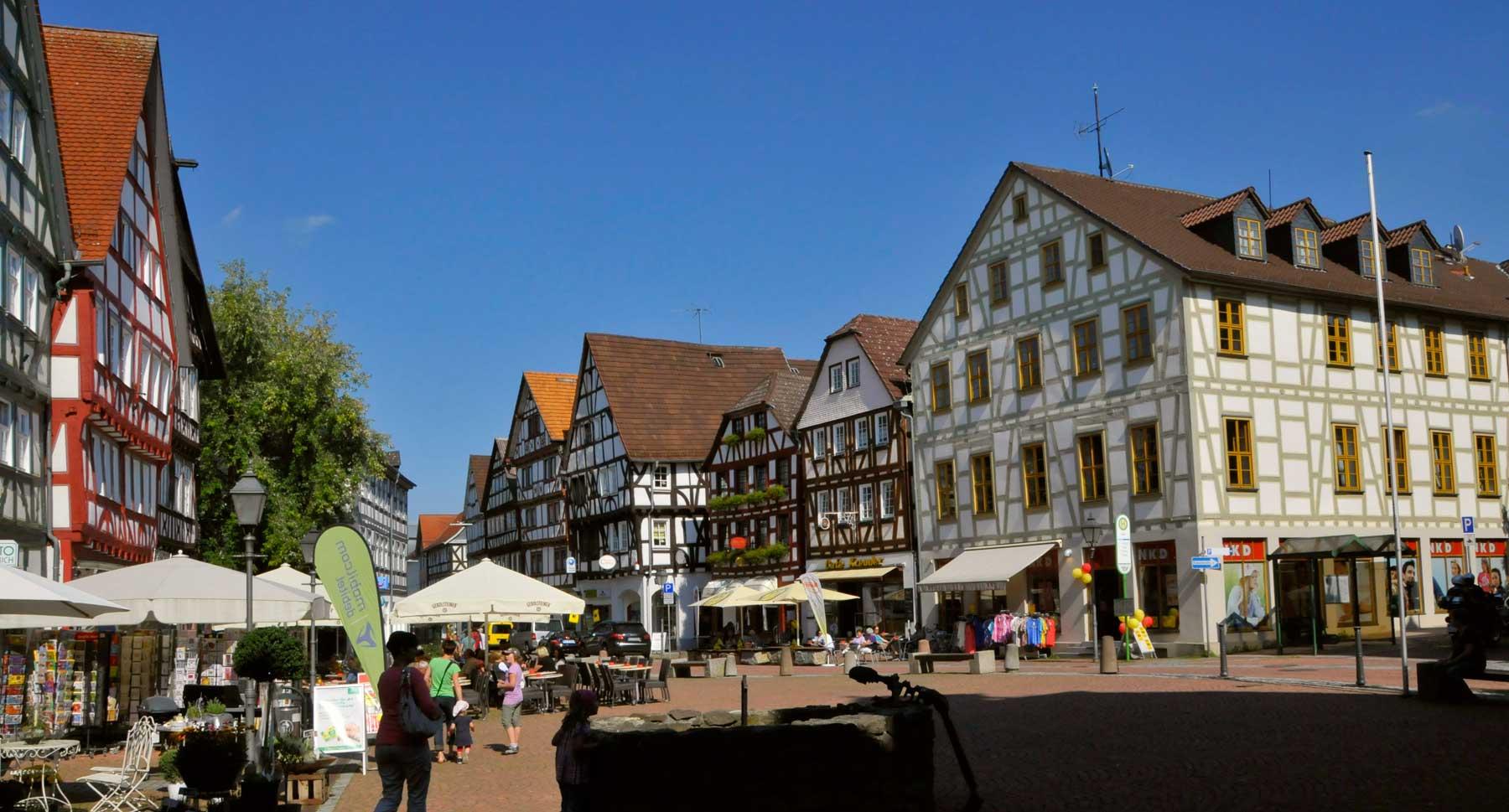 St Gallus market vendor stalls