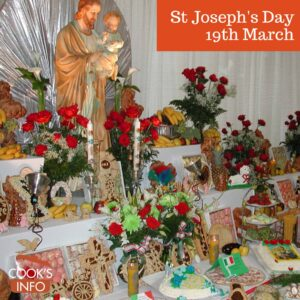 St Joseph's Table