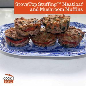 StoveTop Stuffing™ Meatloaf and Mushroom Muffins