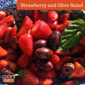 Strawberry and Olive Salad