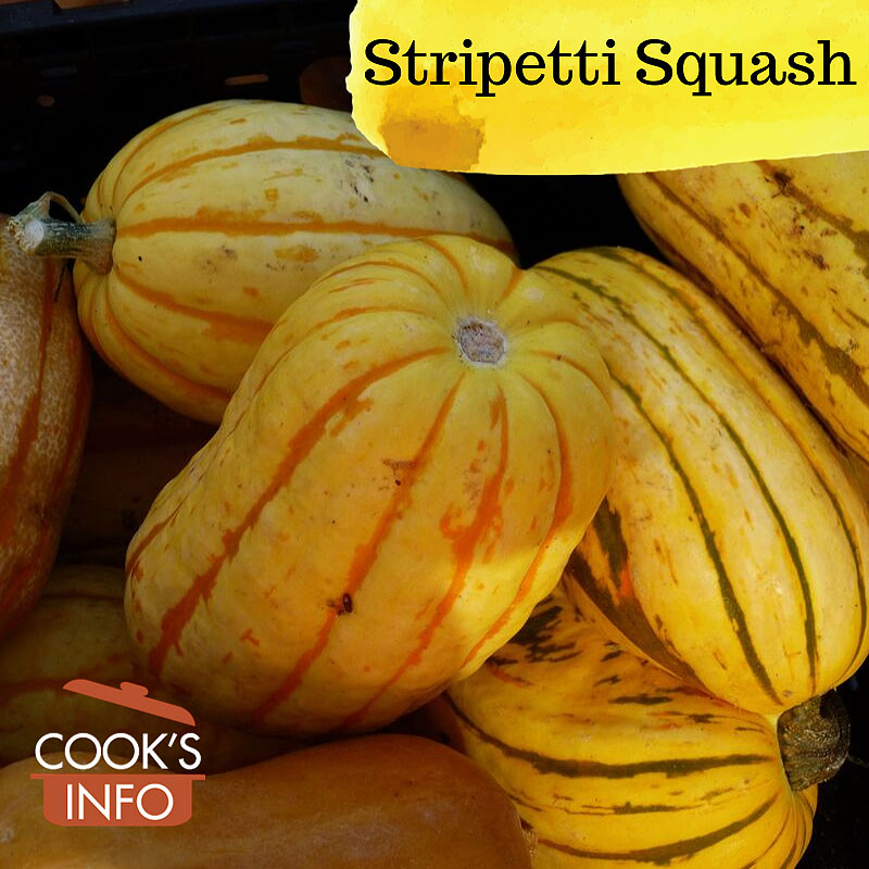 Stripetti squash