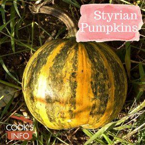 Styrian pumpkins