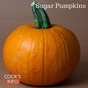 Small Sugar Pumpkins