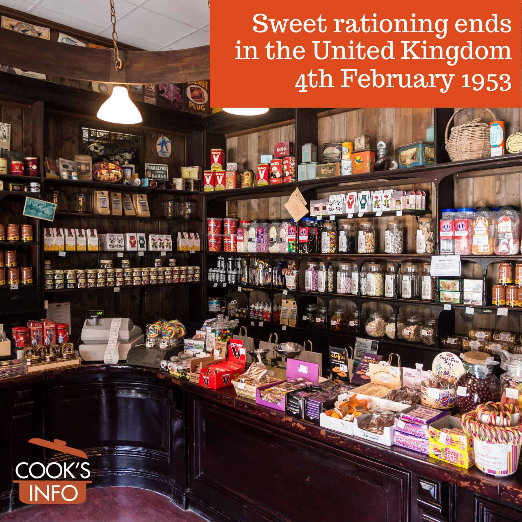 Old sweets store