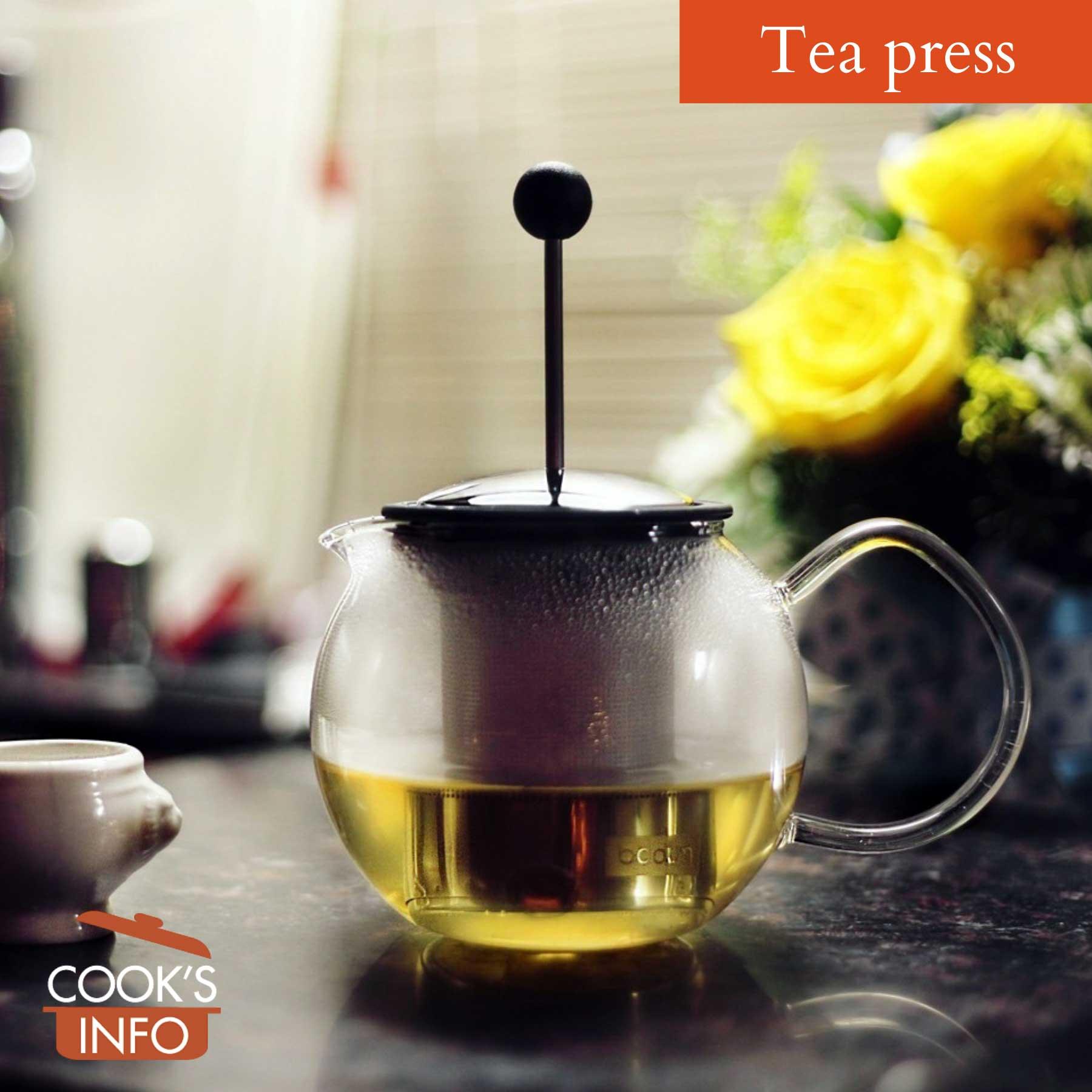 Tea press
